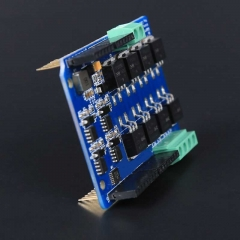 Dual channel H-Bridge motor shield