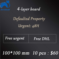 4-layer board 10*10cm 10 pcs Free shipping